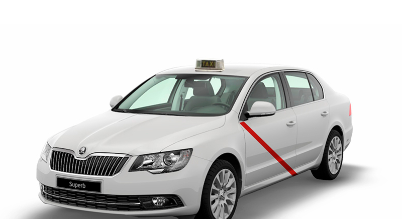 Taxi con taximetro o Vehiculo con Precio Fijo